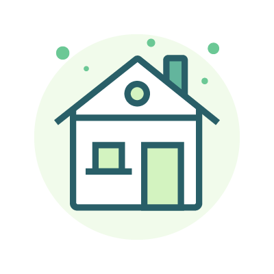 Apply for a house - Services Icon